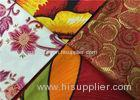 Soft Cotton African Batik Fabric With Art Design Wax Painting For Pants / Shirts