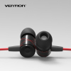 Promotion wholesale metallic Earphones with Microphoe 3.5mm in-ear Style Earphone with MIC
