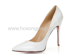 Laies pointed toe high heel dress shoes