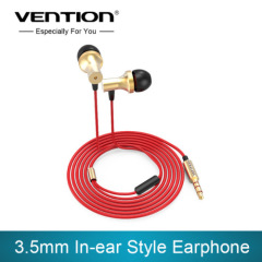 whole sale High quality 3.5mm jack In Ear Earphones Studio Earphone Noise Isolating Deep Bass Earphones with MIC