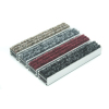 Shopping mall stainless steel link design aluminum base dust proof entrance mat