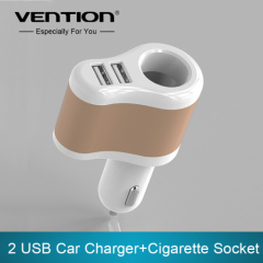 2016 venda quente 2 USB Car Charger Com Cigarro Car soquete carregador de carro Dual Adapter 5V 3.1A Para Celulares Tablet P