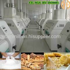 Full automatic 100 ton per day wheat flour mill wheat flour making machine