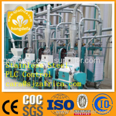corn mill maize flour milling machine for Africa