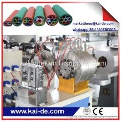 pipe making machine for HDPE micro duct silicon tube making