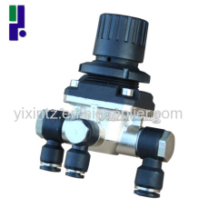 Pressure reducing valve for Electrostatic spraying equipment