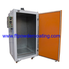 powder paint coating curing oven