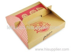 la pizza il cibo carta del pacchetto produttore scatola