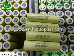 hot sale geniune LG HE4 2500mAh 20A 18650 3.7V rechargeable li ion battery