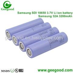 Samsung SDI 22F 22FM 26H 26HM 26JM 26F 26FM 28A 30A 30B 32A 2200mAh 2600mAh 2800mAh 3000mAh 3200MaH 3350mAh 18650 3.7V