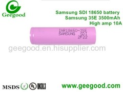 Samsung SDI 22P 22PM 29E 32E 35E 2200mAh 2900mAh 3200mAh 3500mAh high power 10A 18650 battery for power tool e-bike