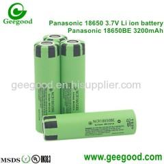Panasonic 3200mAh 18650 BE high capacity battery best tesla battery for e-bike scooter