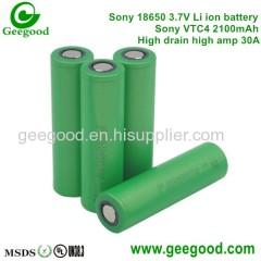 Sony VTC 4 VTC 5 VTC 6 2100mAh 2600mAh 3100mAh 30A high amp vape battery power tool battery
