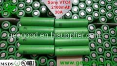 Sony VTC 4 2100mAh 30A high amp vape battery best battery for vape