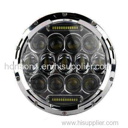 led work light 75w led truck light spot beam/flood beam led working light for truck 9-30v