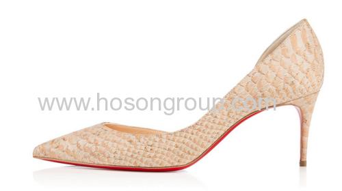 Fashion kitten heel women shoes
