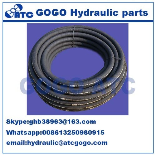 High quality hydraulic rubber hose Parker for sale Hydraulic fittings