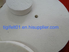 100% Wool felt polishing wheels for stainless steel