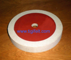 180mm Felt Polishing Wheels for polishing stone