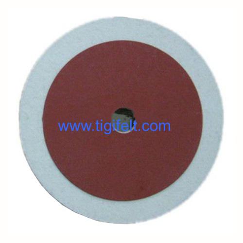 180mm Felt Polishing Wheels for polishing stone