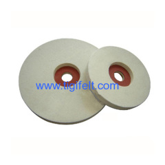 Density 0.5 Wool felt Polishing wheels