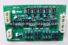 Sigma elevator parts PCB DOP-112 for sigma elevator