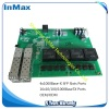 full gigabit 4F&16T industrial switch board embedded board supply ODM