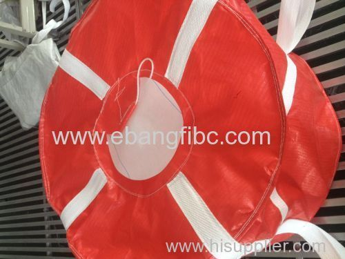 FIBC Bag with Two Tight Loops for Industry Transportation
