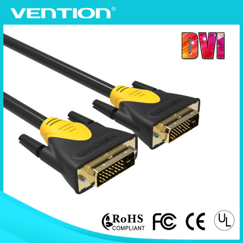 DVI Cable DVI to DVI (24 +1) Pin Cable Adapter Dual Link Digital M/M For PC Projectors HDTV DVD
