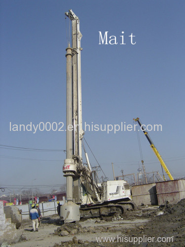 Mait HR180 Piling Machine Tools Mait Kelly Bar for Drilling