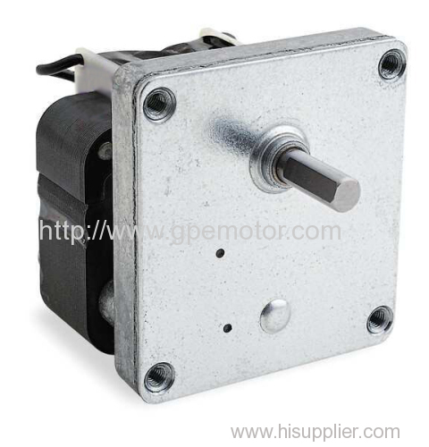 Shaded pole gear motor from china manufacturer gp motor for Shaded pole gear motor
