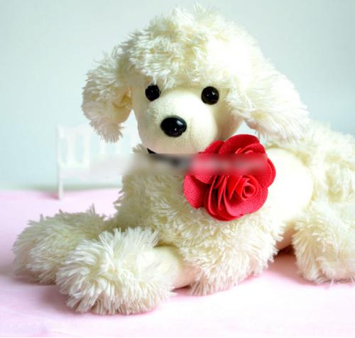 Pet Rose Flower Bow Tie Collars
