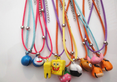 Pet Collars With Leather Chain