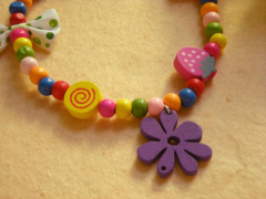 Candy Flower Pet Necklace