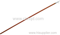BOATHOOK AISI304 WITH WOODEN HANDLE
