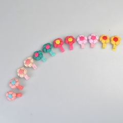 Flower Pet Hair Clip
