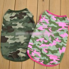 Pet Camouflage Vest Clothes