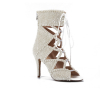 Latest style fashion design beautiful beads decorated ladies boots