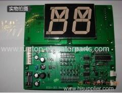 Schindler elevator parts indicator PCB EISEG-205
