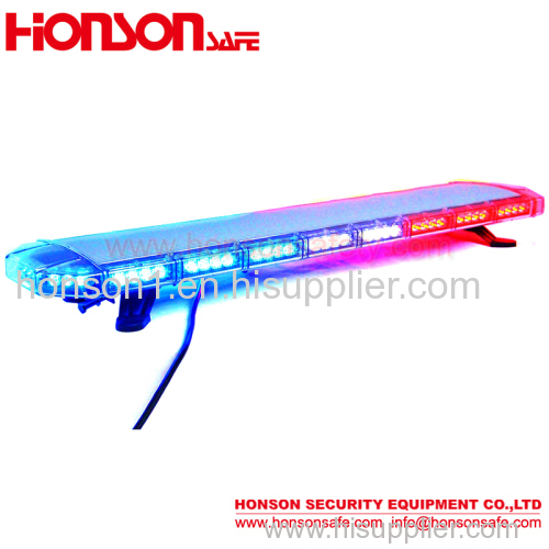 47'' LED Emergency Warning Aluminum Lichtbalk Varningsljus Lightbar