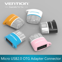 VENTION Micro USB to USB OTG Adapter 2.0 Converter for Tablet PC to Flash Mouse Keyboard