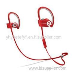 Beats By Dr. Dre Powerbeats2 Wireless Ear-Hook Wireless Headphones Red