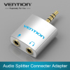 3.5mm Audio Splitter Connector 1 Male to 2 Female Adapter For Headphone PC Mobile Phone Mp3 Mp4