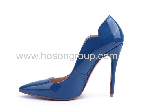 New style pointed toe high heel dress shoes