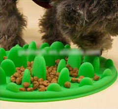 Pet Silicone Slow Food Bowl