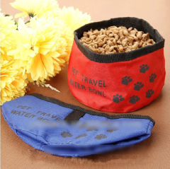 Portable Travel Pet Folding Bowls