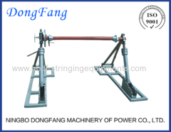 Conductor Reel Stands With Disc Brake of Stringing Equipment