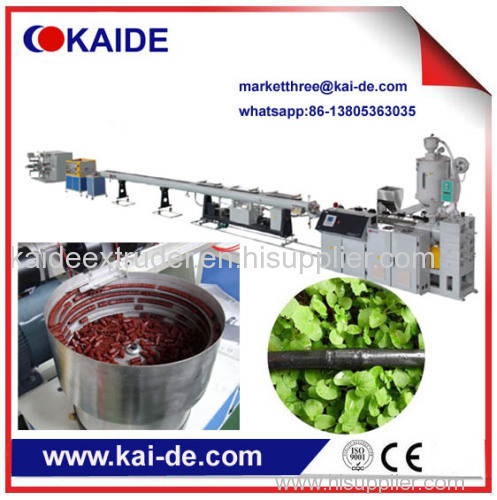 HDPE irrigation pipe making machine supplier from China Cheap price