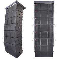 three way active line array stadium speaker outdoor sound system