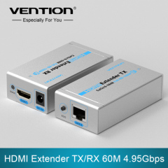 Vention HDMI Extender TX/RX 60M 4.95Gbps Speed Fast Transmission Support HDMI 3D EU/UK/AU/US plug 1080i/720p/576p/576i